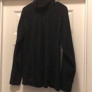 Women's fitted 1/4 zip jacket